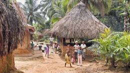 Sierra Leone - Dorfleben