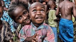 Sierra Leone, faszinierende Kinder