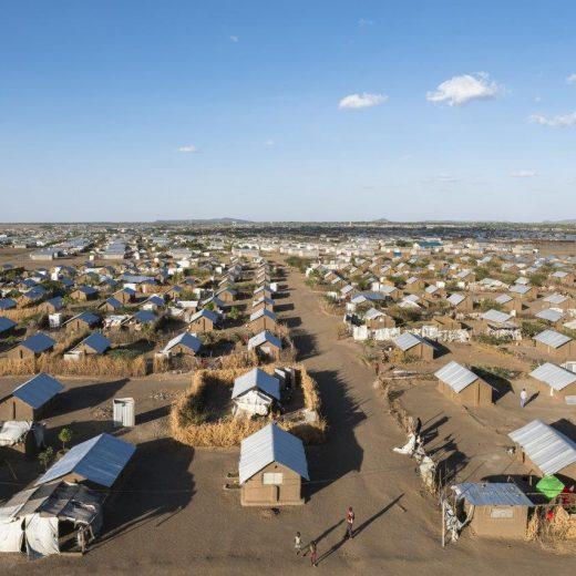 Rund 190.000 Menschen leben im Flüchtlingscamp von Kakuma in Kenia (Credit: Johanniter /Fassio)